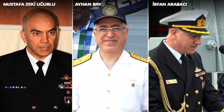 Firari general ve amirallerin kimlikleri ortaya çıktı