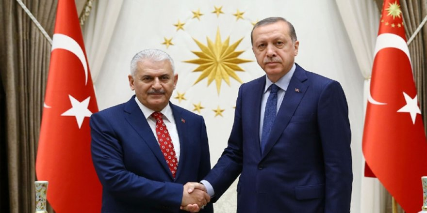 Erdoğan Başbakan Yıldırım'ı kabul etti