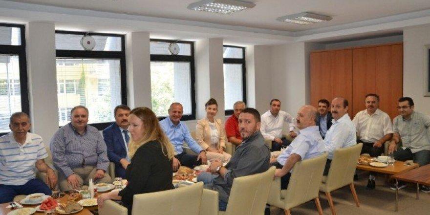 Avusturyalı müsteşardan Başkan Keleş'e ziyaret