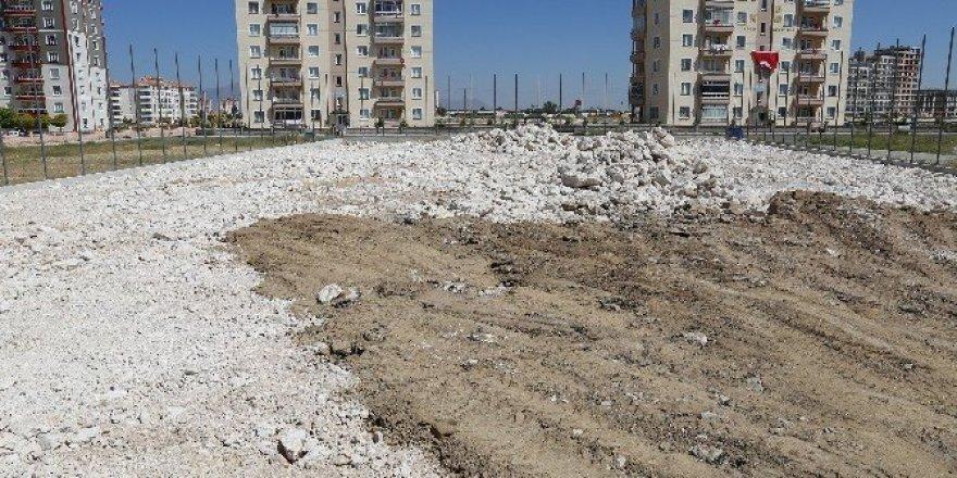 Karaman'da yeni semt sahaları geliyor