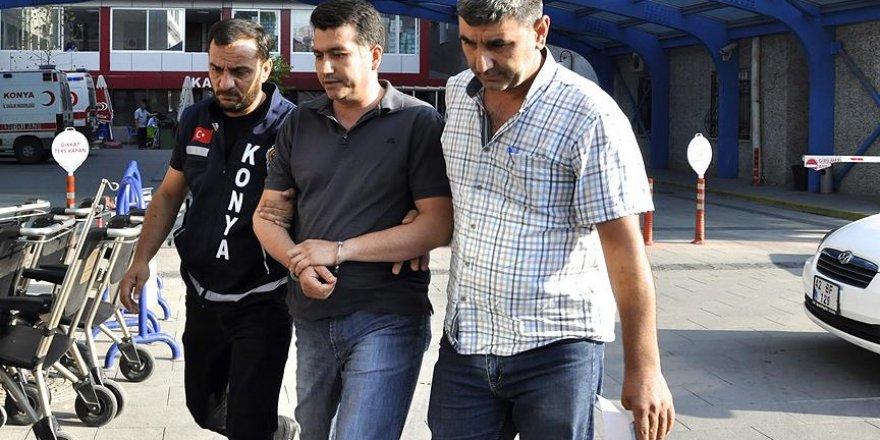 Konya'da FETÖ bağlantılı polislere operasyon: 63 gözaltı