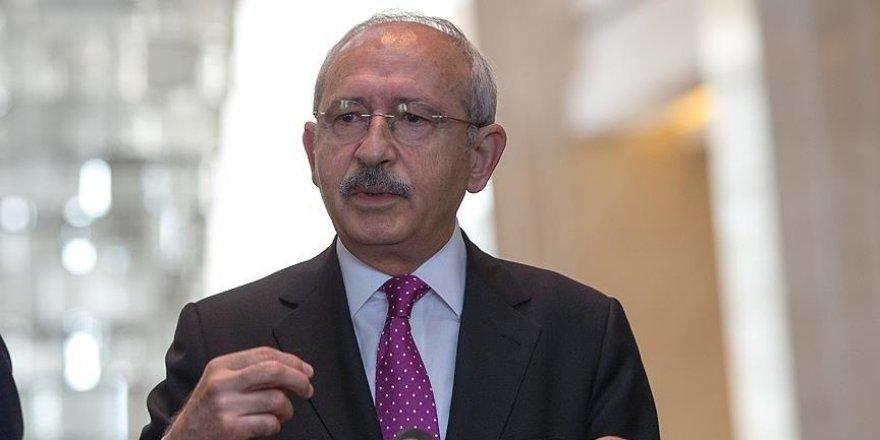 Kılıçdaroğlu'ndan Başbakan Yıldırım'a mektup