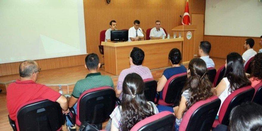 Aydın'da gıda kontrol görevlisi eğitimleri başladı