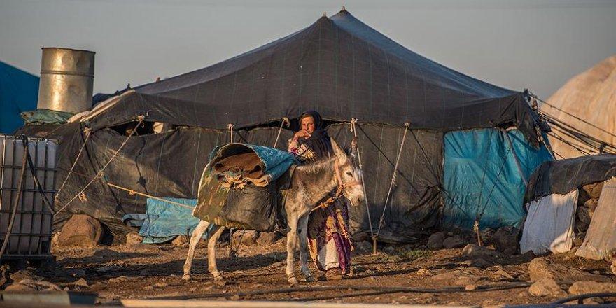 Terör göçerleri Karacadağ'a hapsetti