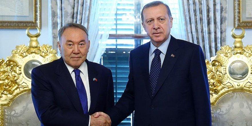 Nazarbayev Türkiye'yi ziyaret edecek