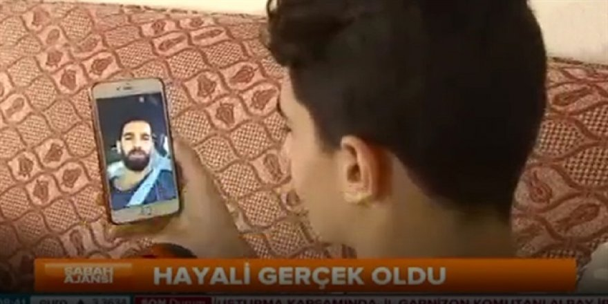 Arda Turan, cuntacıların vurduğu Abdüssamet için video çekti