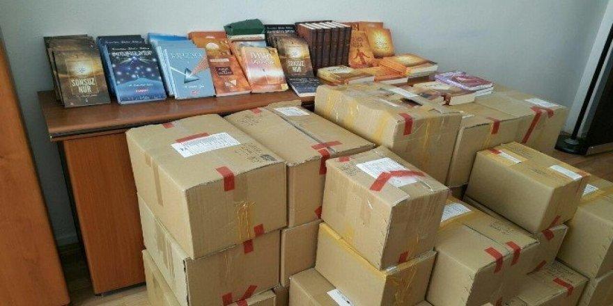 130 iş yerinde FETÖ/PDY liderine ait  bin 161 materyal ele geçirildi