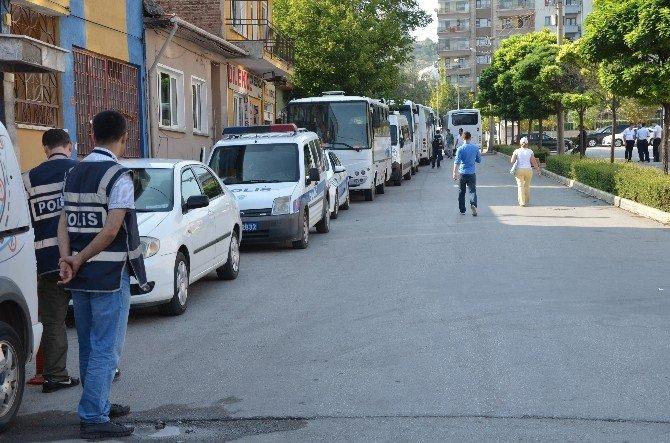 Eskişehir'de 34 polis adliyeye sevk edildi