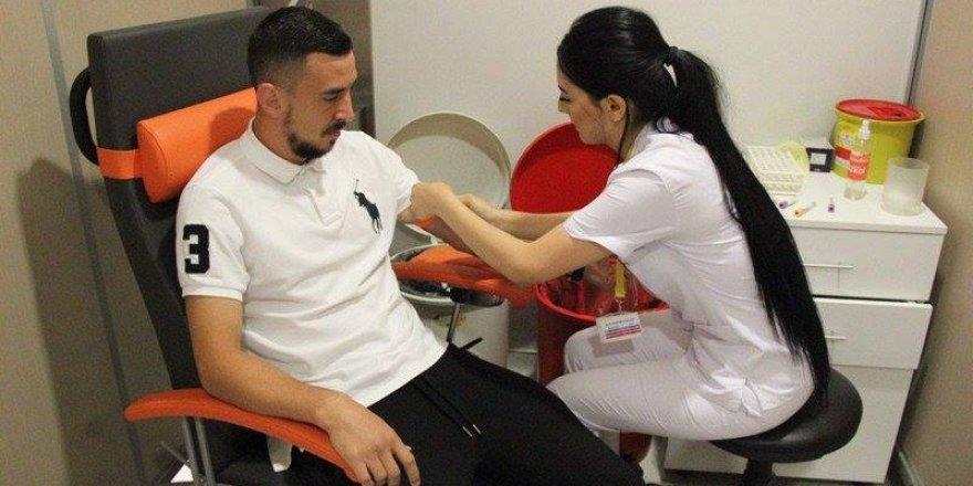 Atiker Konyaspor'da yeni transfer Ioan Hora sağlık kontrolünden geçti