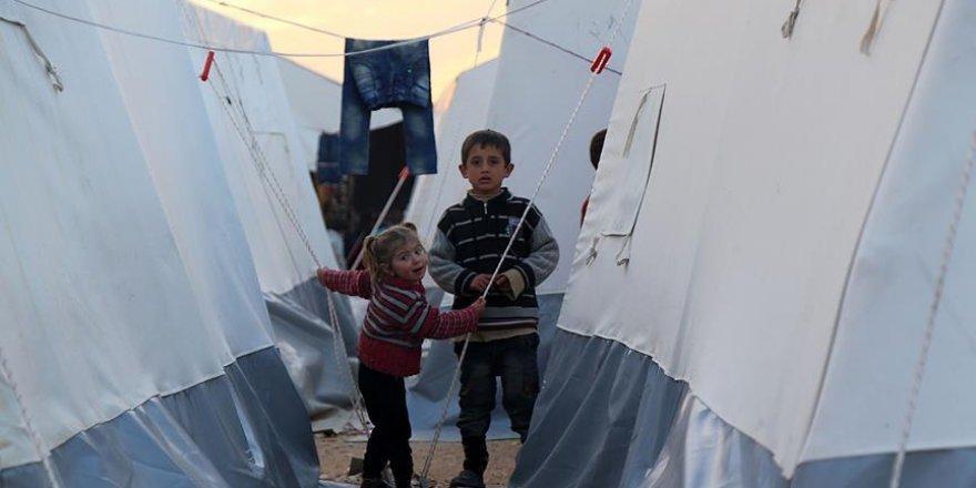 Suriye'deki kamplarda yaşayan çocuklarda 'şiddet eğilimi'