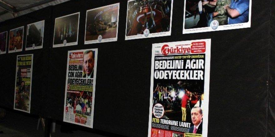 Gençlik Spor Merkezi'nden 'Demokrasi Bayramı' fotoğraf sergisi