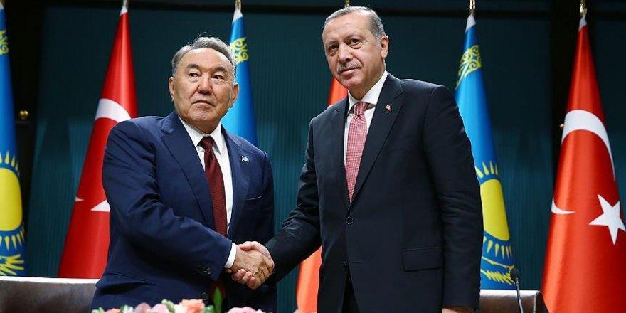 Kazakistan Cumhurbaşkanı Nazarbayev'den taziye mesajı