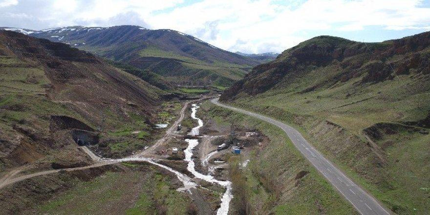 Şehitler Barajında yüzde 55 seviyesine ulaşıldı