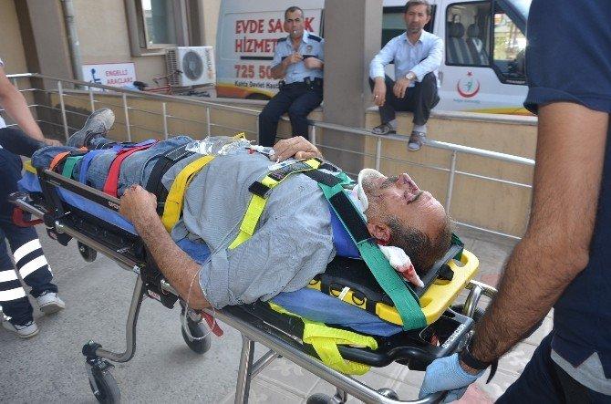 Kahta ilçesinde trafik kazası: 1 Yaralı