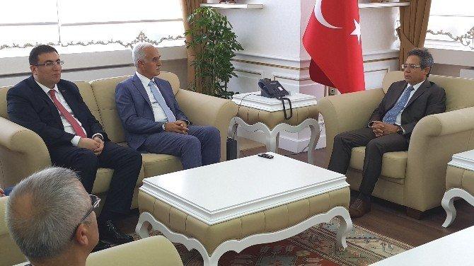 MÜSİAD Genel Başkanı Olpak Sinop'ta