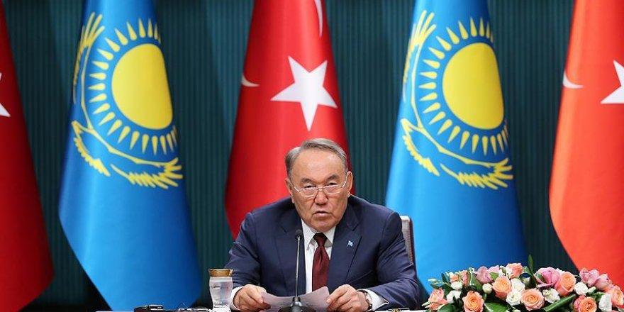 Nazarbayev: Türkiye'ye karşı iş yapan kimseyi desteklemeyeceğiz