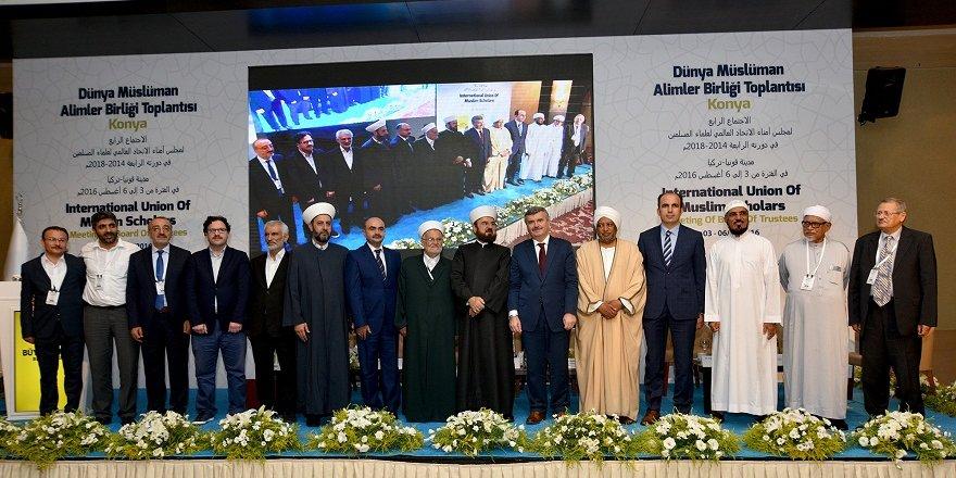 """""""Dünya Müslüman Alimler Birliği Toplantısı"""" sonuç bildirgesi açıklandı"""