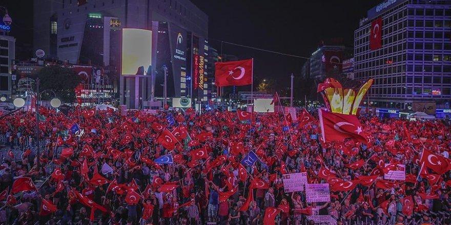 Ankara Valiliği'nden Yenikapı mitingine destek için Kızılay'a davet
