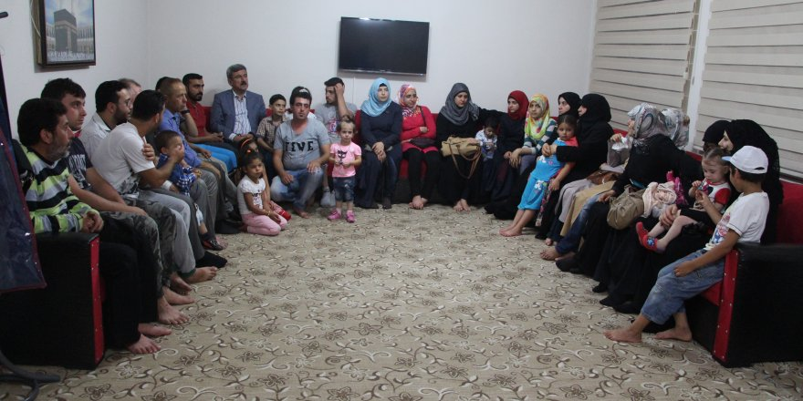 Başkan Suriyelileri dinledi