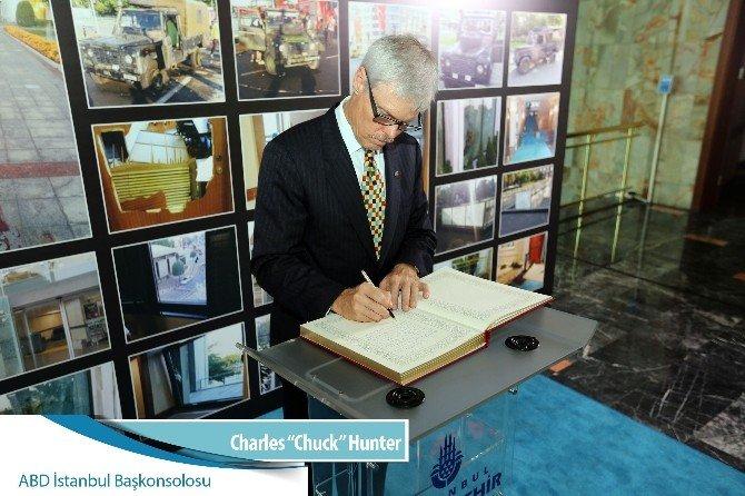 İBB taziye anı defterine destek mesajları yağdı