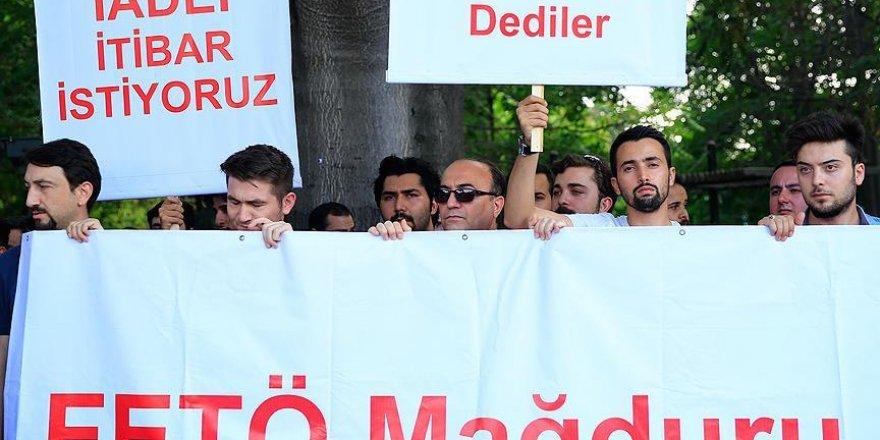 """FETÖ mağduru askeri öğrenciler """"iadeiitibar"""" istedi"""