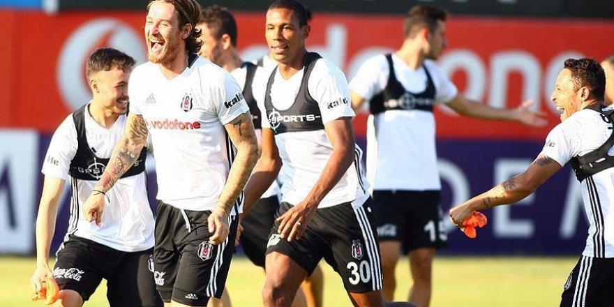 Beşiktaş Olympiakos maçı öncesi son hazırlıklarını yaptı