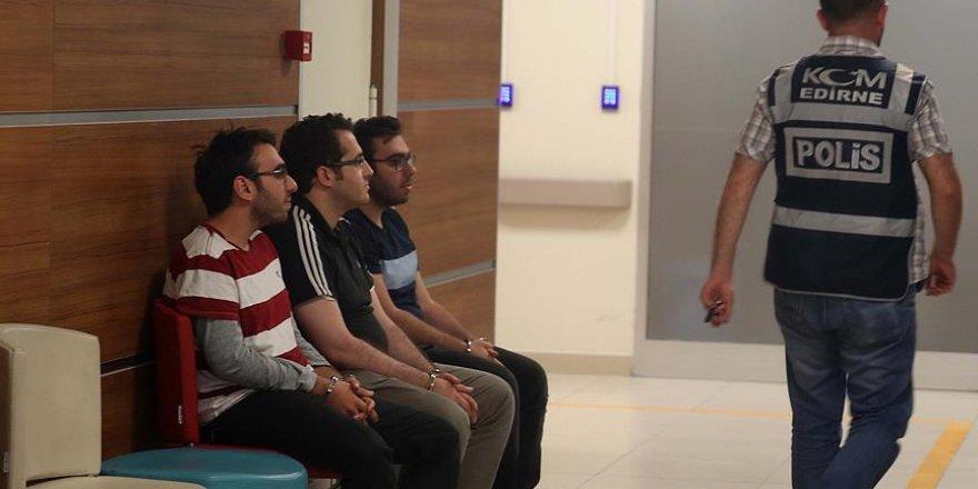 Ali Çelik'in oğulları ve yeğeni Kapıkule'de yakalandı