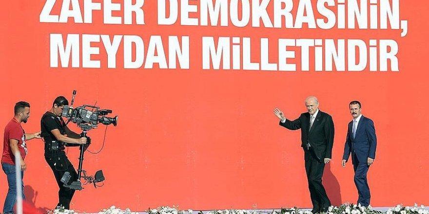 Bahçeli: Türkiye'mizin şahlanışını gururla izliyorum