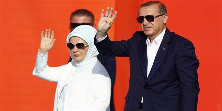 Erdoğan Yenikapı'dan tek kare paylaştı