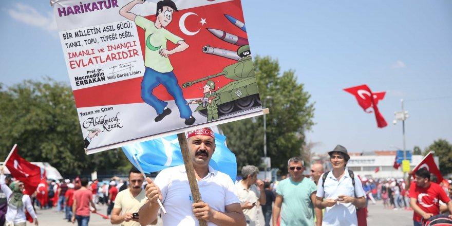 """""""Demokrasi ve Şehitler Mitingi""""ne spor camiasından destek"""