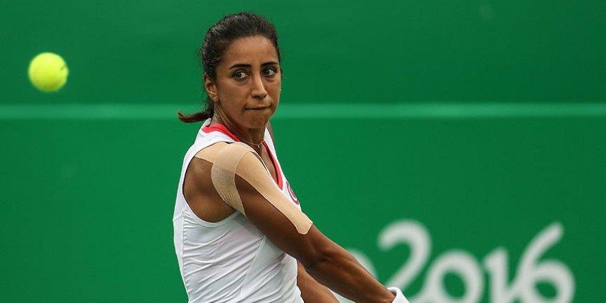 Milli kadın tenisçi Büyükakçay turnuvaya veda etti