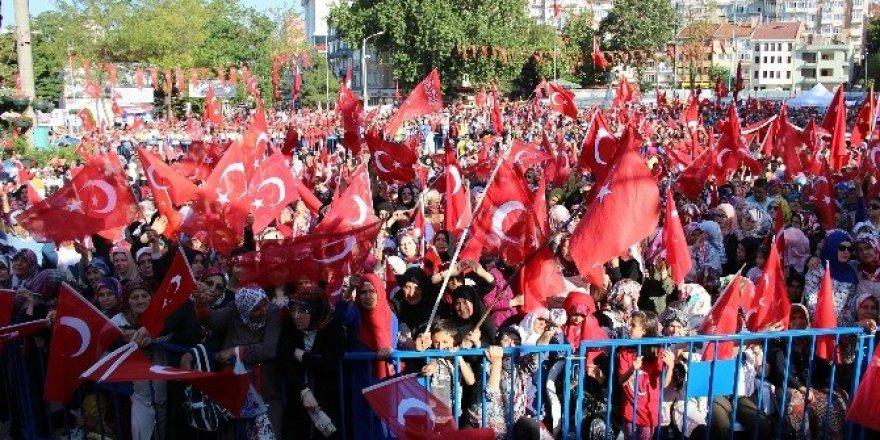 Kütahya'da demokrasi bayramı