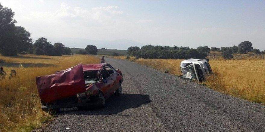 Beyşehir'de iki ayrı trafik kazası: 8 yaralı