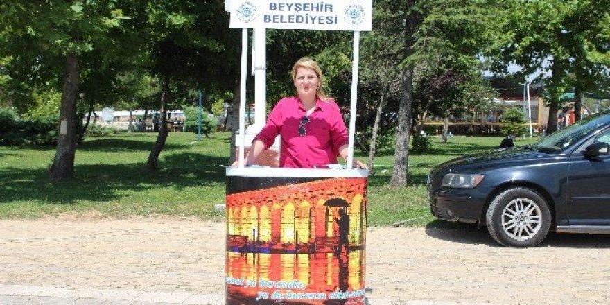 Beyşehir Belediyesi'nden tanıtım çalışması