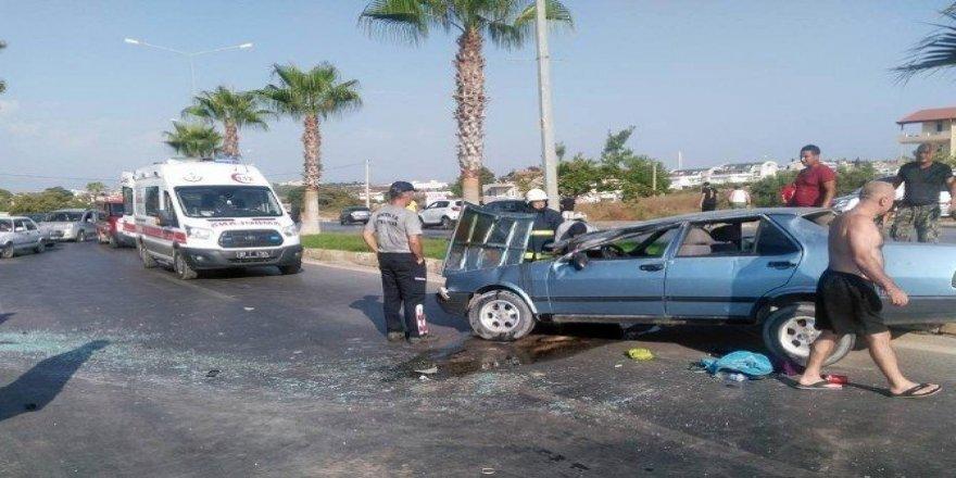 Antalya'da kaza: 2 yaralı