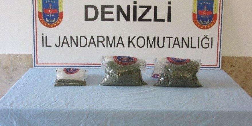 Denizli'de uyuşturucu operasyonu: 8 gözaltı