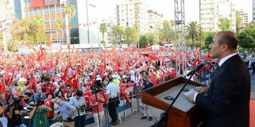 Vali Demirtaş'tan, Adanalılara miting için teşekkür