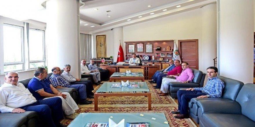MTSO'dan Başkan Çakır'a teşekkür ziyareti