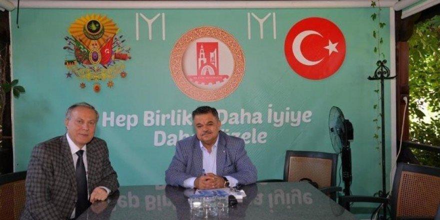 İl Emniyet Müdür Namal'dan Başkan Yağcı'ya iadeyi ziyaret