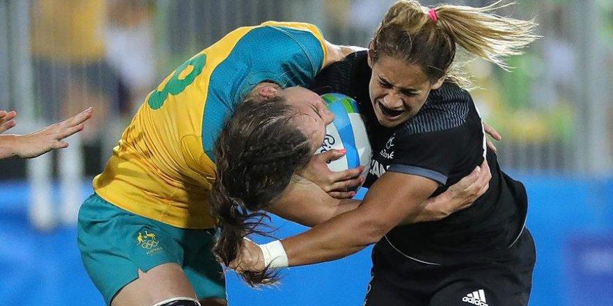 Yedili Ragbide olimpiyatların ilk altın madalyası Avustralya'nın