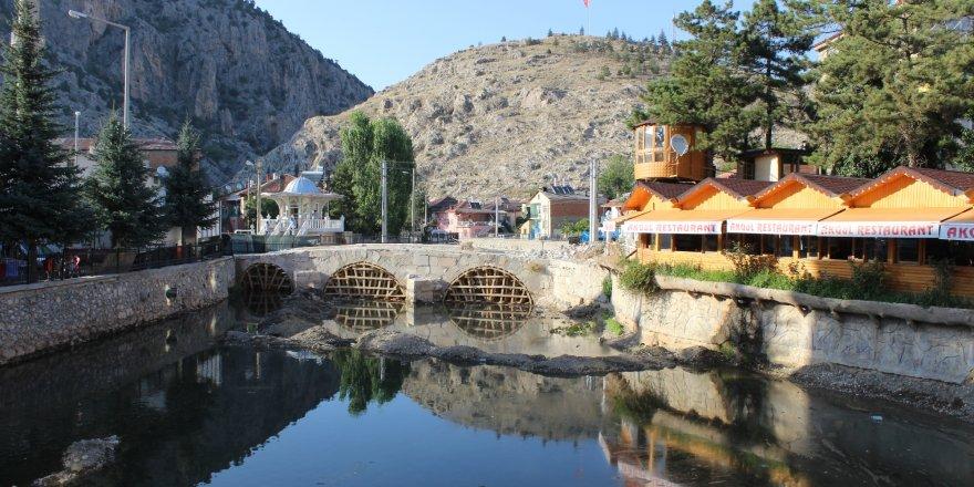 Bozkır'da Selçuklu Köprüsü restore ediliyor