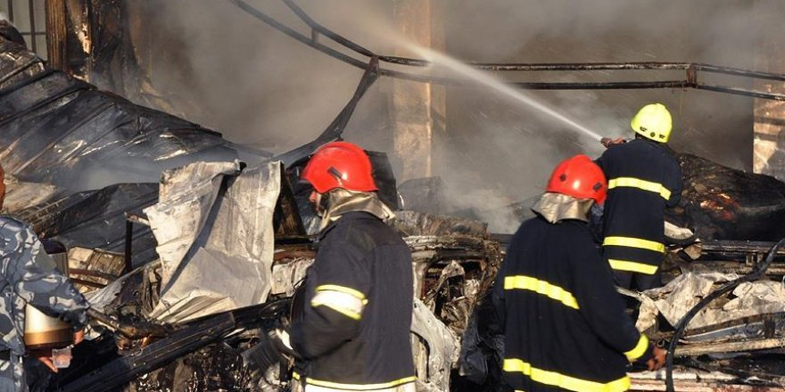 Irak'ta hastane yangını: 11 ölü