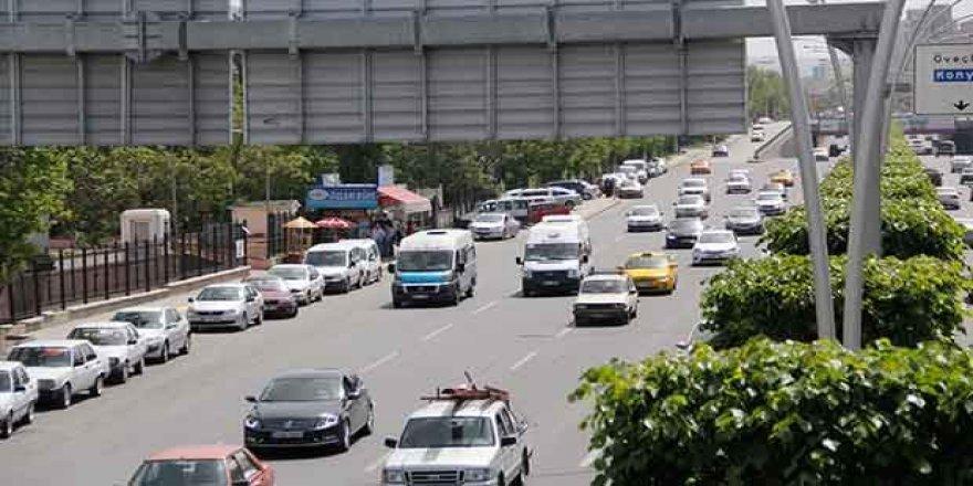 Konya trafiğinde artış sürüyor! İşte son rakamlar