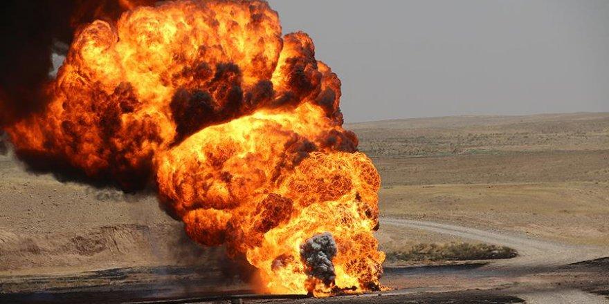 DAEŞ Kerkük'te petrol kuyusuna sabotaj düzenledi