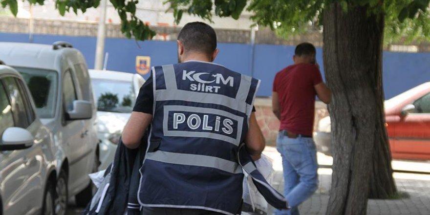 Siirt'te terör örgütü operasyonu: 2 gözaltı