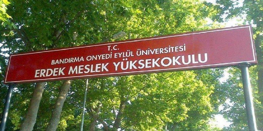 Erdek Meslek Yüksek Okulu'nda 2 öğretim görevlisi tutuklandı