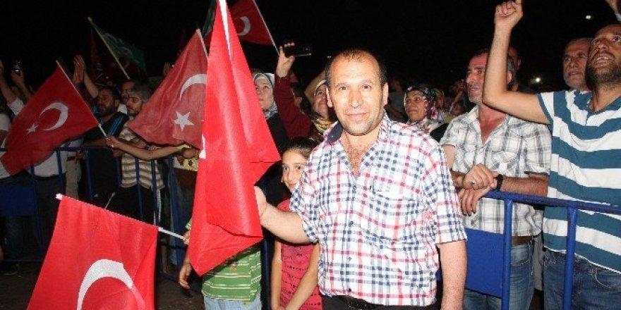 Türkiye tek vücut oldu