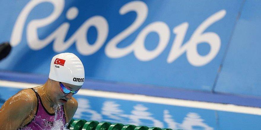 Milli yüzücü Güneş Rio'ya veda etti