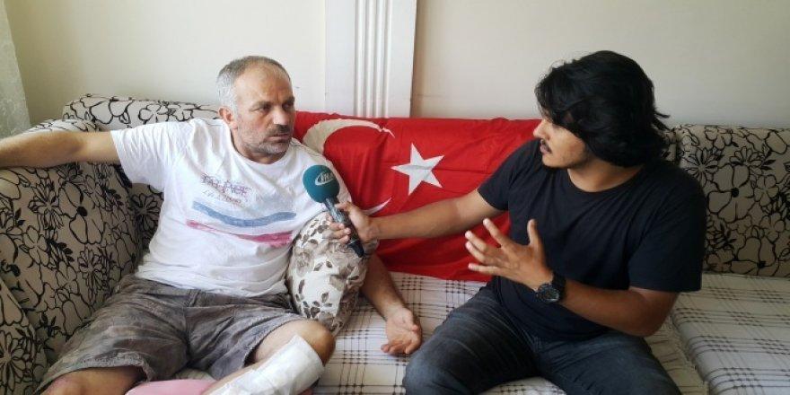 15 Temmuz gazisi: 'Benim oğlum asker, beni vuran da asker'