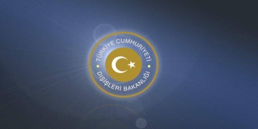 Dışişleri Bakanlığı'ndan Yunan Bakana tepki